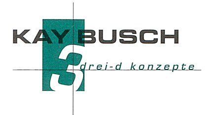 Logo Kay Busch 3D Konzepte